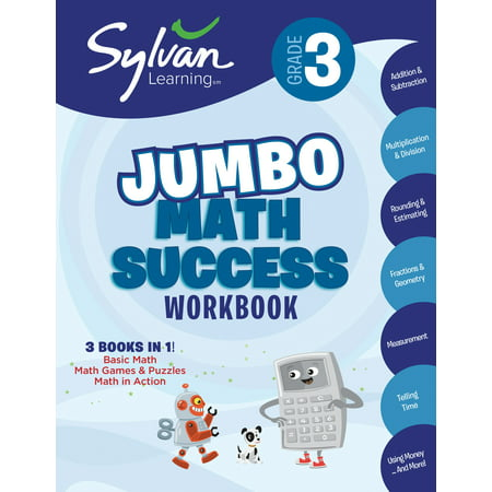 3rd Grade Jumbo Math Success Workbook : Activities, Exercises, and Tips to Help Catch Up, Keep Up, and Get Ahead
