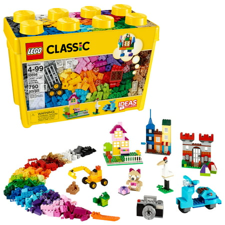 LEGO Classic Large Creative Brick Box 10698 Building Toy (790 pcs) (Lego Junior Bricks)