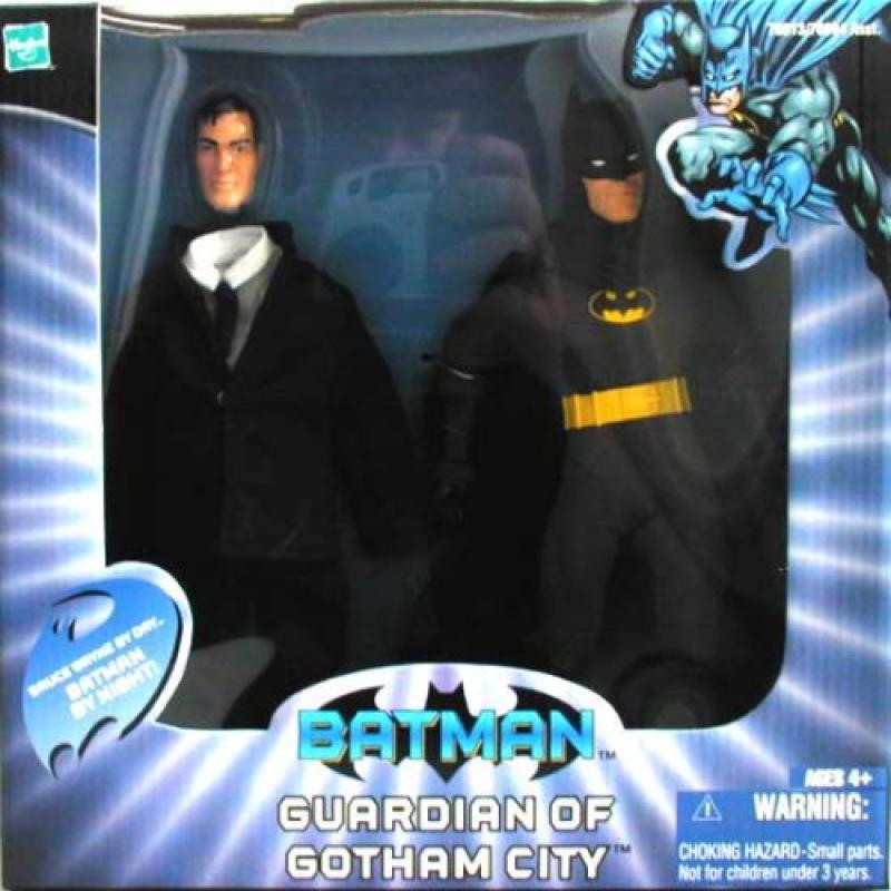 Hasbro Batman Guardian of Gotham City & Bruce Wayne by Night Action Figure Set