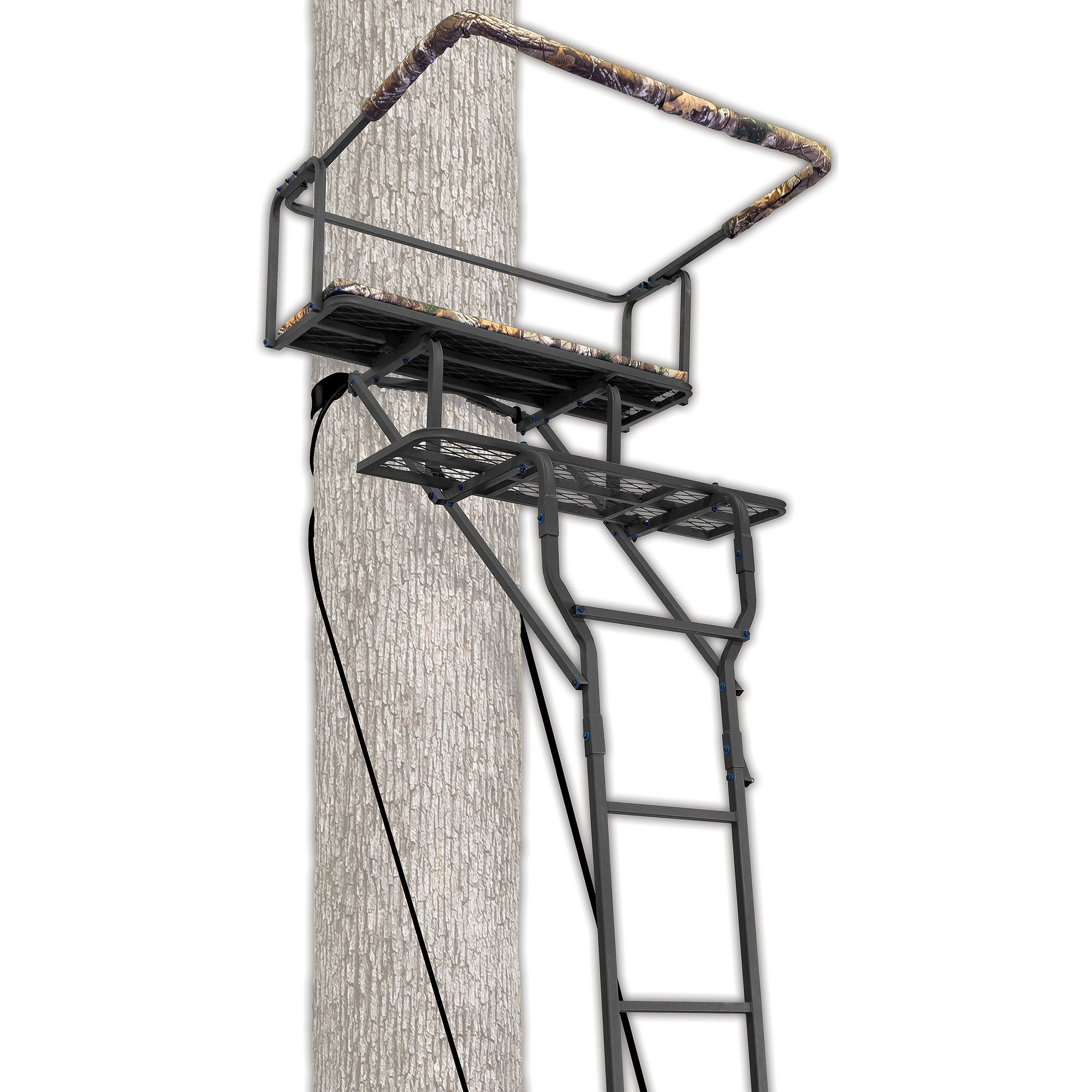 Ameristep 15' Two-Man Ladderstand w  RealTree AP Seat by Ameristep