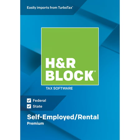H&R Block Tax Software 2018 Premium Win (Email Delivery)