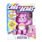 "NEW Care Bears - 5"" Interactive Figure - Cheer Bear - Your Touch Unlocks 50+ Reactions & Surprises!"
