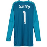 David Ousted D.C. United Autographed Match-Used Blue #1 Jersey vs. LAFC on May 26, 2018 - Fanatics Authentic Certified