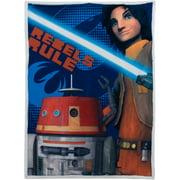 "Star Wars Rebels 46"" x 60"" Mink Sherpa Throw, 1 Each"