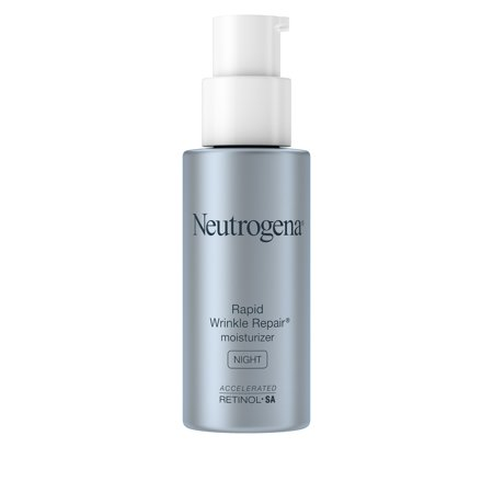 Hand Wrinkle Cream (Neutrogena Rapid Wrinkle Repair Hyaluronic Acid Night Moisturizer, 1 fl. oz )