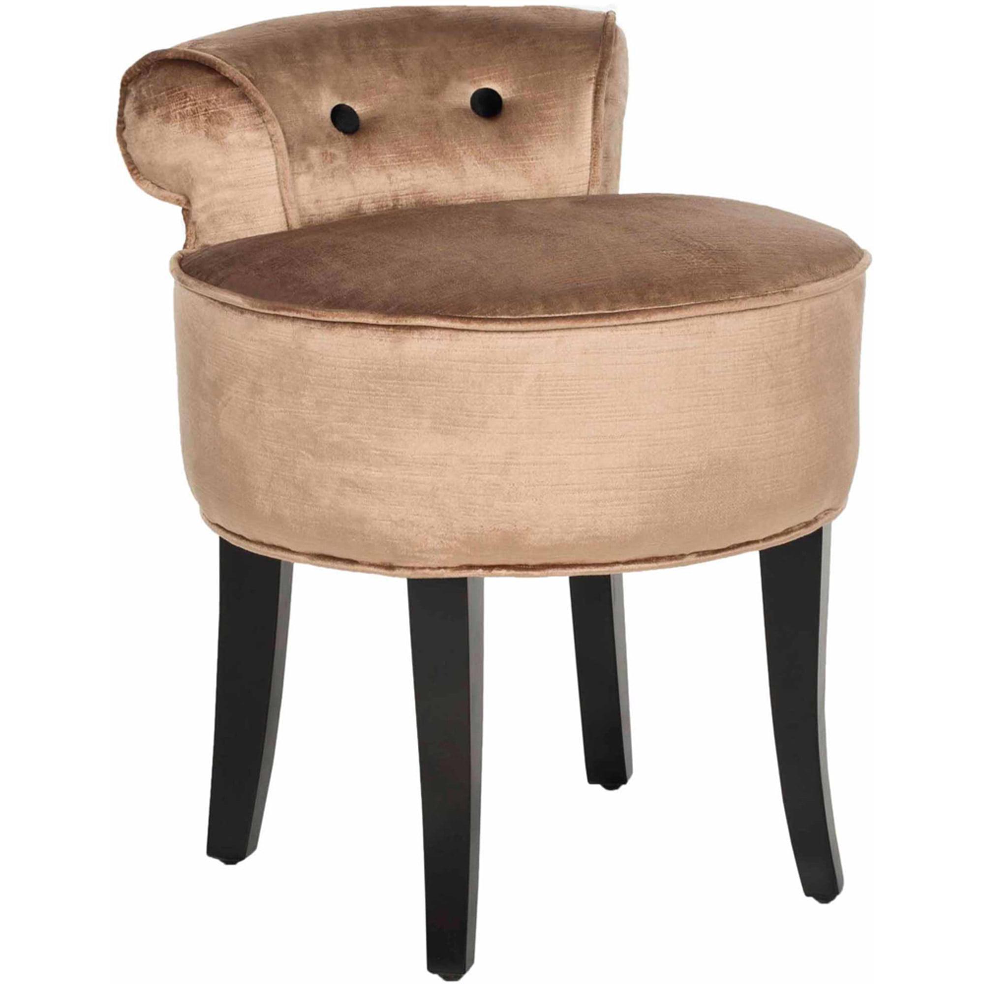 tailored vanity chair stools bathroom stool kara instavanityus helena l licious skirted