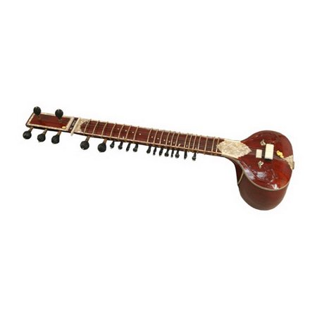 Mid-East Sitar, Standard, Single Toomba, Burgundy