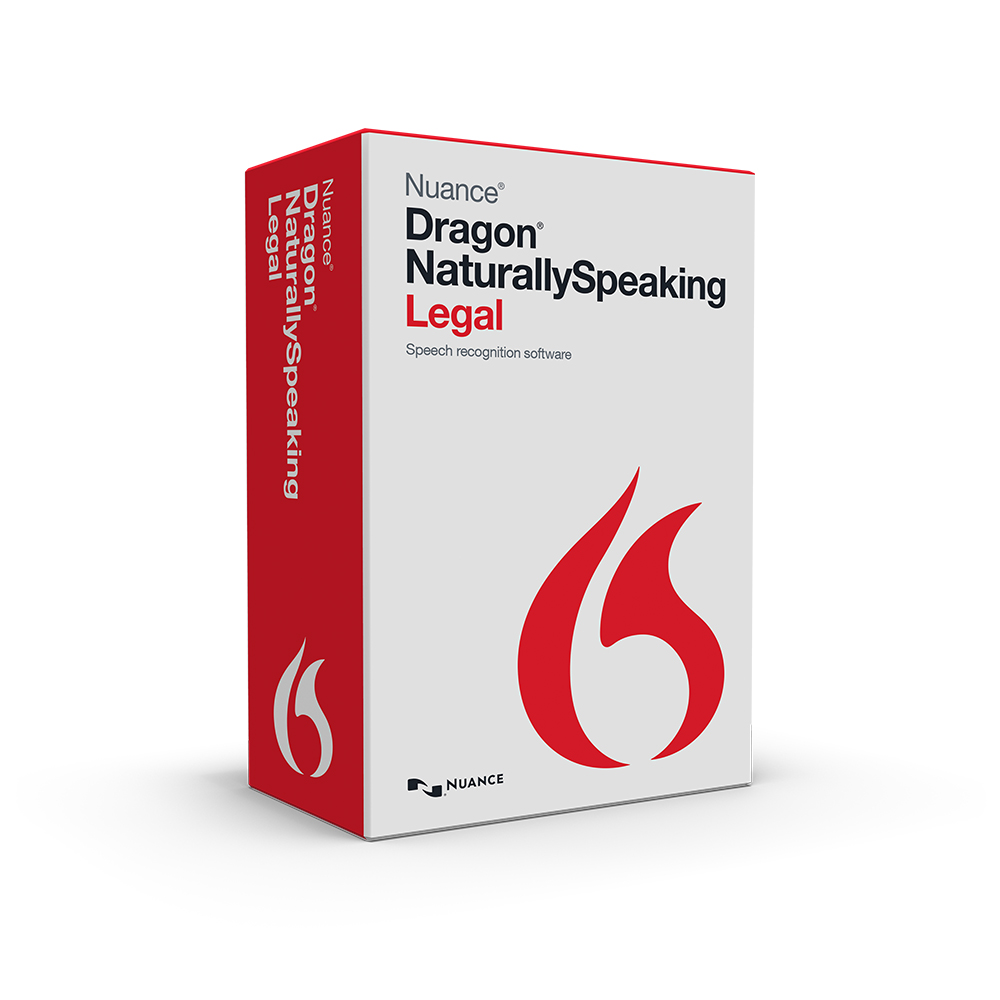 Nuance 362898 Dragon NaturallySpeaking Legal Version 13 Speech Recognition Software Electronic Download