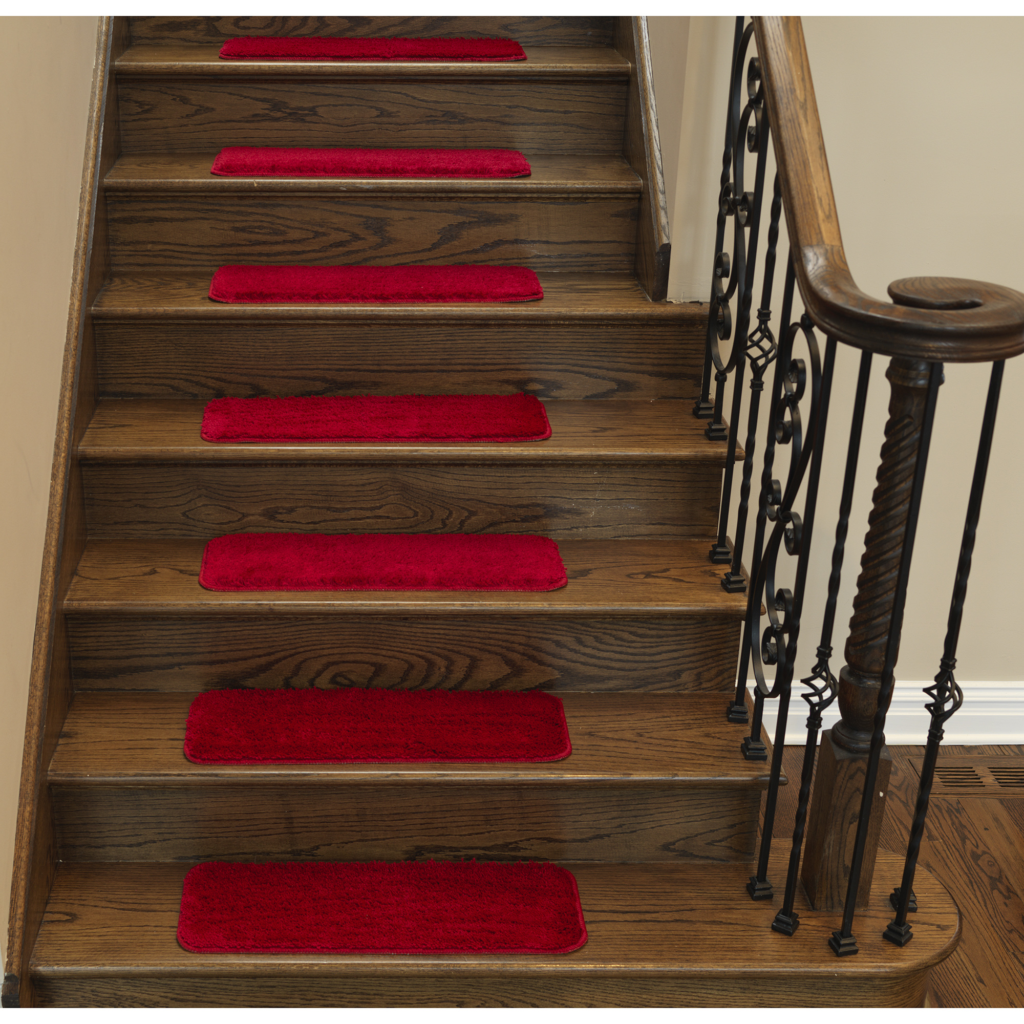 """Sweet Home Stores Soft Non-Slip Carpet Stair Treads, 9"""" X 26"""""""