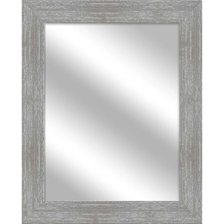 Gray Wash Stein Mirror, 25.5x31.5