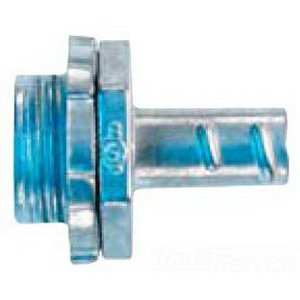 Crouse-Hinds 772DC Screw In Non-Insulated Straight Connector 3/4 In,