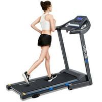 Goplus 2.25HP Folding Treadmill Electric Motorized Power Running Fitness Machine