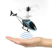 RC Helicopter Flying Mini RC Infraed Induction Helicopter Aircraft Toys for Kids Children