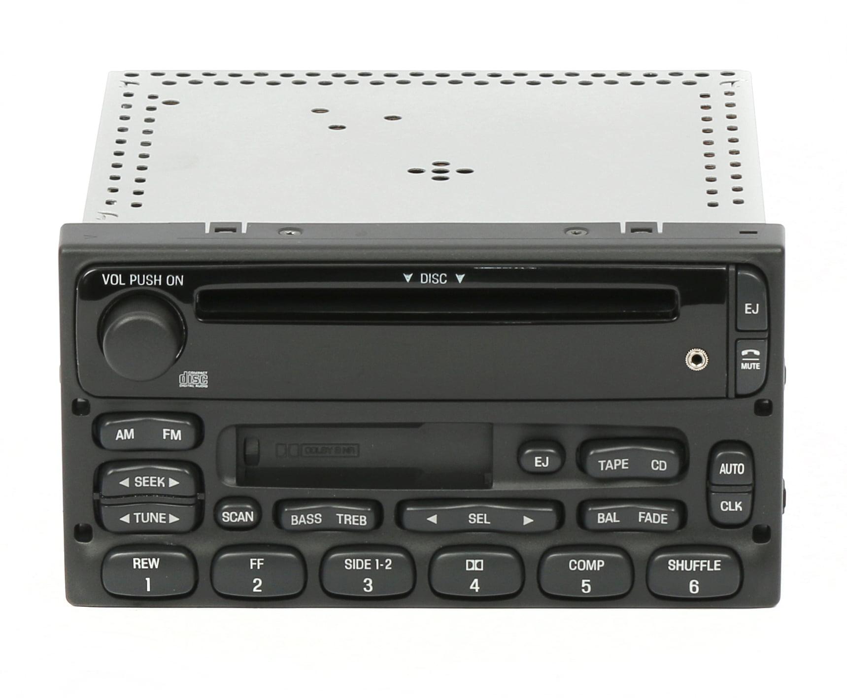 Ford Trucks 1998-2010 AM FM CD Cassette Radio w Auxiliary Input YU3F-18C868- AA - Refurbished - Walmart.com - Walmart.comWalmart.com