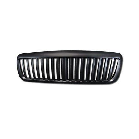 RL Concepts BLACK VERTICAL FRONT BUMPER HOOD GRILL GRILLE ABS 1998-2007 FORD CROWN