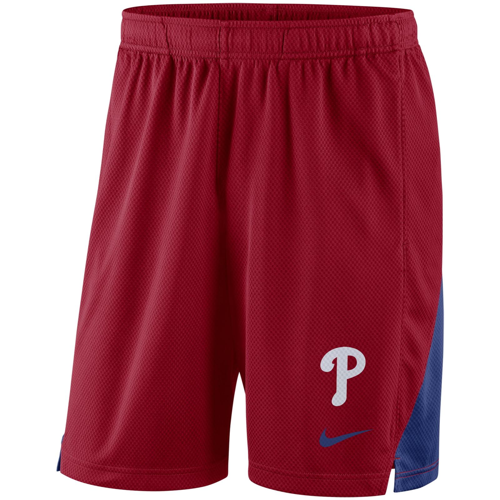 Philadelphia Phillies Nike Franchise Performance Shorts - Red