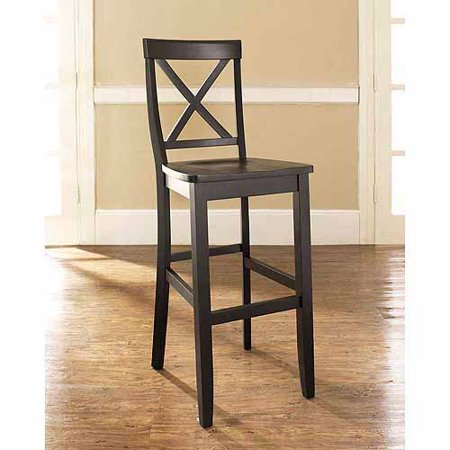 - Crosley Furniture X-Back Bar Stool with 30