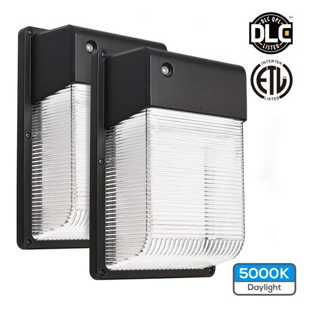 Torchstar 2pcs Outdoor Wall Light 16w Dusk To Dawn Led Wall Pack