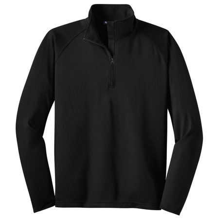 Sport-Tek Men's Big And Tall Comfort 1/2-Zip Pullover Big And Tall Womens Clothing