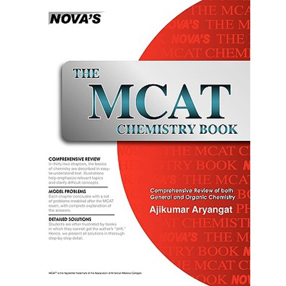The MCAT Chemistry Book (Paperback)