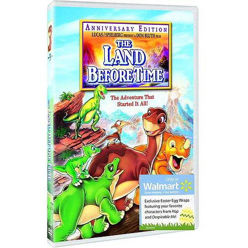 The Land Before Time (DVD + Easter Egg Wraps) (Walmart Exclusive) (Full Frame)
