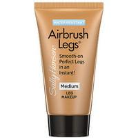Sally Hansen Airbrush Legs Waterproof Leg Makeup, Medium