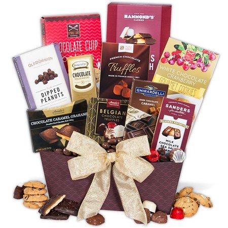 Chocolate Dreams Valentine S Day Gift Basket Walmart Com