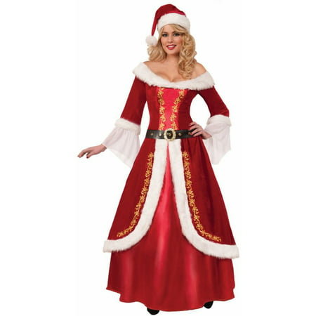 Premium Mrs. Claus Costume for - Traditional Mrs Claus Costume