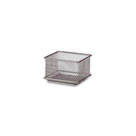 - 3 x 3 in. Stainless Steel Mesh Drawer Organizer - Silver
