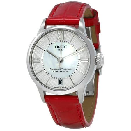 Ladies Automatic Diamond Watch - Chemin Des Tourelles Automatic Ladies Watch T099.207.16.118.00