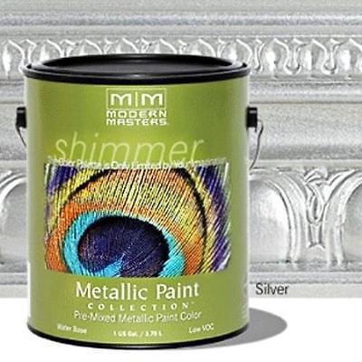 Metallic Paint Silver Gallon