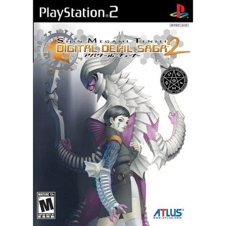 Playstation 2 - Shin Megami Tensei Digital Devil Saga 2 (Shin Megami Tensei Ps2)