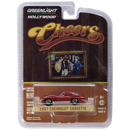 1:64 Hollywood Series 17 - Cheers (1982-93 Tv Series) - Sam's 1967 Chevrolet Corvette 44770-BScale : 1:64. By