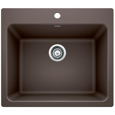 22 Laundry Sink - BLANCO LIVEN Laundry Sink - Café Brown