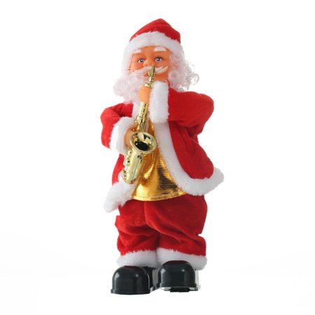 Electric Santa Claus Doll Ornaments For Christmas Decoration Children's Gift Christmas Electric Ornaments