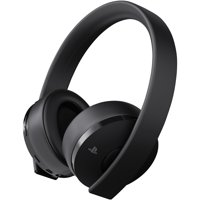 Sony PlayStation 4 Gold Wireless Headset, Black, 3002498