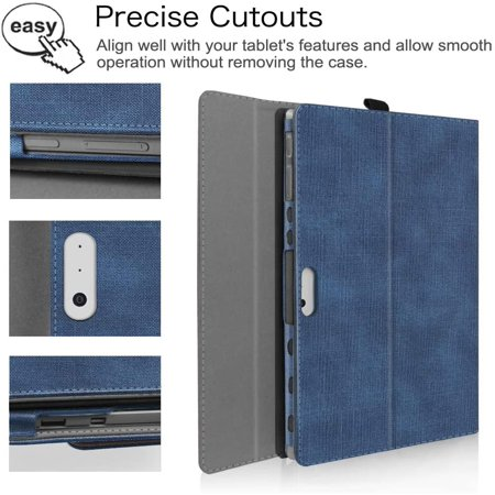 Fintie Case for New Microsoft Surface Pro 7 / Pro 6 / Pro 5 / Pro 4 / Pro 3 12.3 Inch Tablet - Multiple Angle Viewing - image 4 of 5