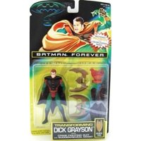 batman forever transforming dick grayson by kenner