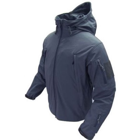 Summit Tactical Soft Shell Jacket Navy Blue Medium