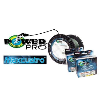 Power Pro Maxcuatro Microfilament Braided Line 150, 300, 1500yd - Browning 9 Mm Hi Power
