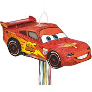 Disney Cars Pinata, Shaped Pull String