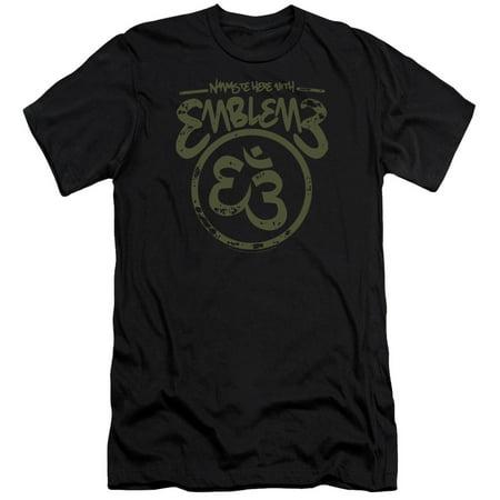 a6b0024e01 Emblem3 - Emblem3 Namaste Here Mens Premium Slim Fit Shirt - Walmart.com