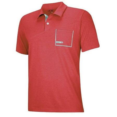 Adidas Golf Men's Climalite Angular Pocket Jersey Polo Shirt - Many (Adidas Golf Shirt)