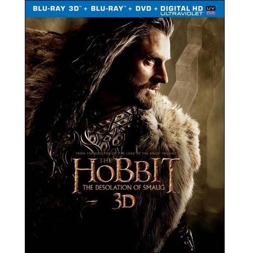 The Hobbit: The Desolation Of Smaug (3D Blu-ray + Blu-ray + DVD + Digital HD) (Widescreen)