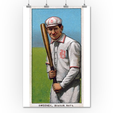 Boston Doves Bill Sweeney Baseball Card 36x54 Giclee Gallery Print Wall Decor Travel Poster