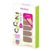 Coconut Nail Art by Incoco Nail Polish Strips, Moon Dance