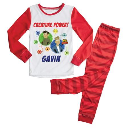 Kids Red Pajamas (Wild Kratts Creature Power Red Kids Pajamas)