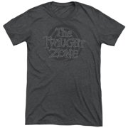 Twilight Zone Spiral Logo Mens Tri-Blend Short Sleeve Shirt