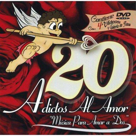 20 Adictos Al Amor  Includes Dvd