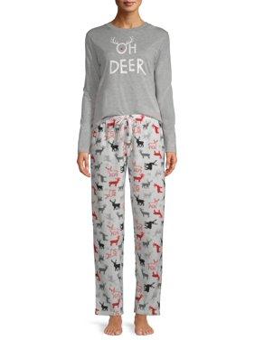 EV1 from Ellen DeGeneres Oh Deer Pajama Pant Set Women's